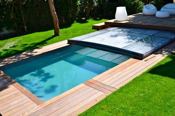abri piscine a debordement